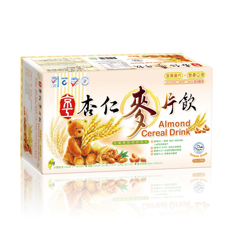 杏仁麥片飲(28入) Almond Cereal Drink