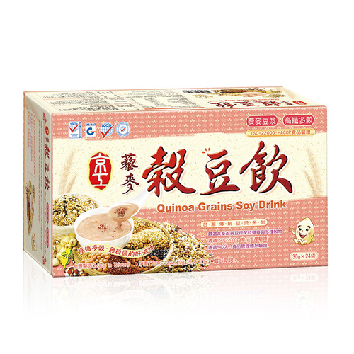藜麥穀豆飲(24入)Quinoa Grains Soy Drink