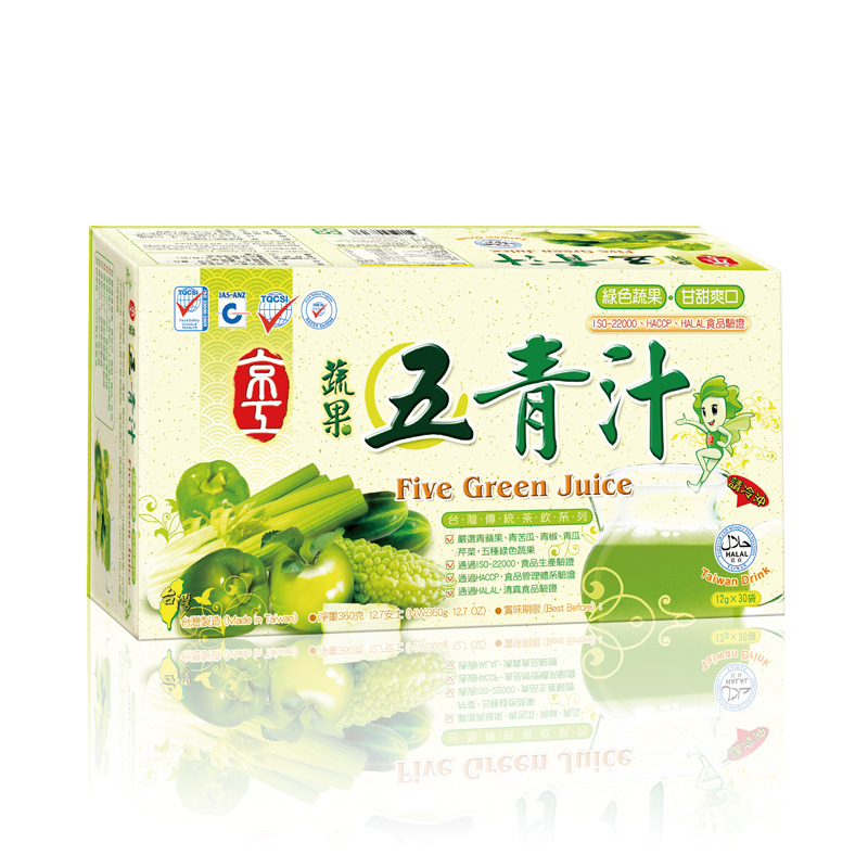 蔬果五青汁(30入) Five Green Juice
