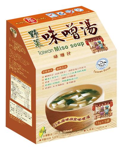 野菜味噌湯 (5入)Miso Soup