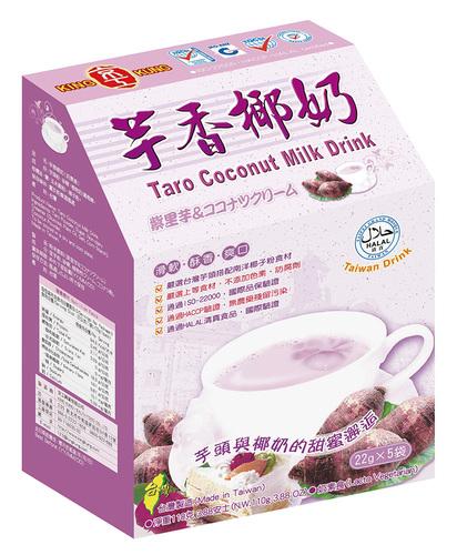 芋香椰奶 (5入) Taro Coconut Milk Drink